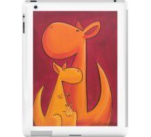 Splatter Mob (Kangaroos) iPad Case/Skin