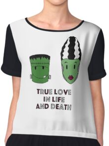 Halloween - True love Chiffon Top