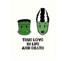 Halloween - True love Art Print