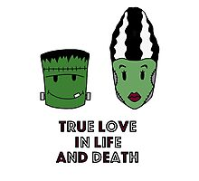 Halloween - True love Photographic Print