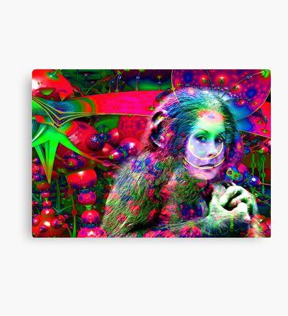 Alien Jungle  Canvas Print