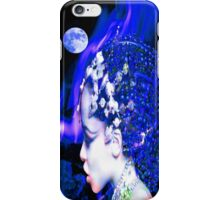 Blue Goddess iPhone Case/Skin