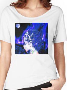 Blue Goddess Women's Relaxed Fit T-Shirt