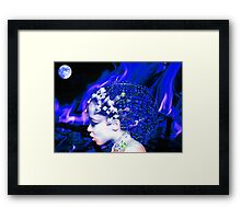 Blue Goddess Framed Print