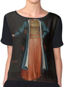 Woman from the Bulgarian Coast, workshop of Jean Baptiste Vanmour,  Chiffon Top