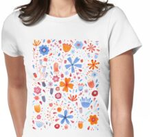 English Meadow Womens Fitted T-Shirt