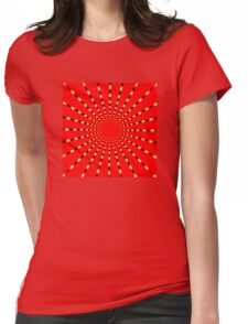 SUPER BEAMS Womens Fitted T-Shirt