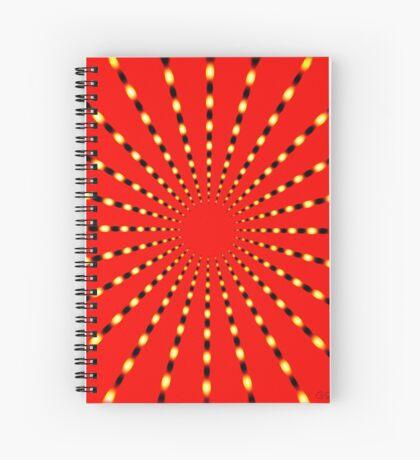 SUPER BEAMS Spiral Notebook