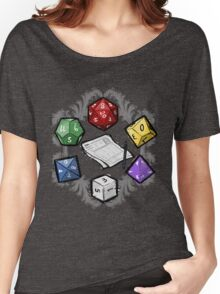 RPG DICE set and DICE PATTERN Women's Relaxed Fit T-Shirt