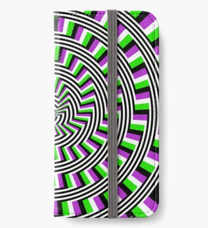 Self-Moving Unspirals iPhone Wallet/Case/Skin