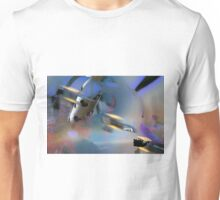 Aviation Abstract Unisex T-Shirt