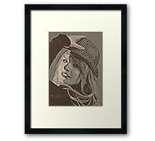 Shirley Framed Print