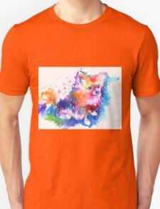 Pop Art Pomeranian Unisex T-Shirt