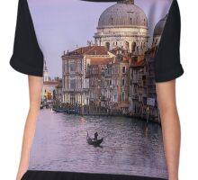 Drifting away in Venice Chiffon Top