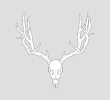 Deer Head - White Fill by George Williams