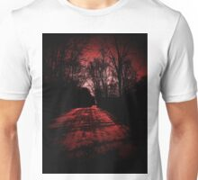 Riding through the darkness..C. O. D.  Unisex T-Shirt
