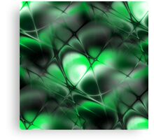 Meshed Green Canvas Print