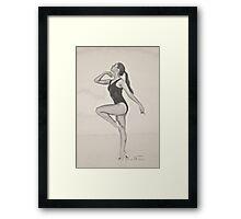 Jane 3 Framed Print