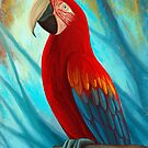 Technicolor Macaw by Remus Brailoiu