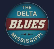 The Derlta Blues Kids Tee