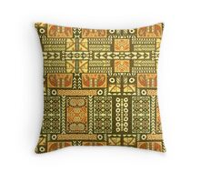 Tribal, African Pattern, Geometric, Shapes,  Throw Pillow