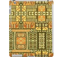 Tribal, African Pattern, Geometric, Shapes,  iPad Case/Skin