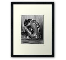 """Nude study"" Fine Art By LaneyArt  Framed Print"