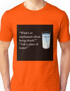 Hitchhiker's Guide to the Galaxy drinking quote Unisex T-Shirt