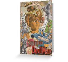The Astounding Devilman Greeting Card