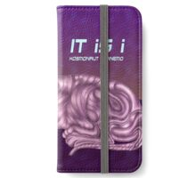 Tiger Purple iPhone Wallet/Case/Skin