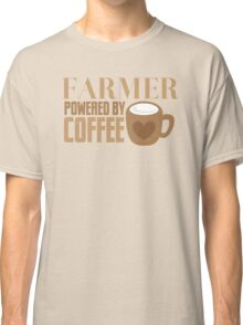 FARMER powered by coffee Classic T-Shirt