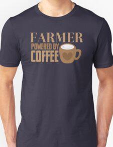 FARMER powered by coffee Unisex T-Shirt