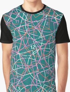 Geometry and math abstract pattern. Back to school! Graphic T-Shirt
