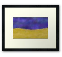 Dream Desert Framed Print