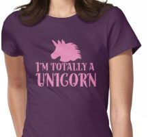I'm totally a unicorn Womens Fitted T-Shirt