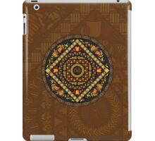 Thanksgiving Icons Mandala iPad Case/Skin