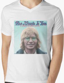 John Denver - The Music Is You Mens V-Neck T-Shirt