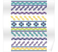 geometric forms Poster