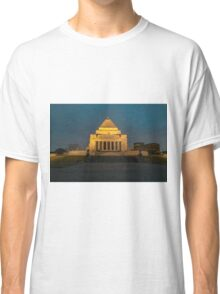 Shrine of Remembrance, Melbourne Classic T-Shirt