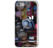 Hat Market in Otavalo iPhone Case/Skin