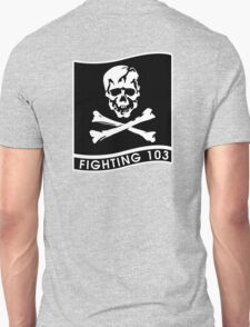 """Strike Fighter Squadron 103 """"the Jolly Rogers"""" - US Navy T-Shirt"""