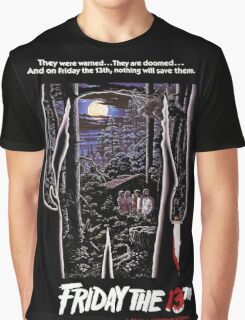 Friday 13th Horror Graphic T-Shirt