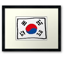 Korean Framed Print