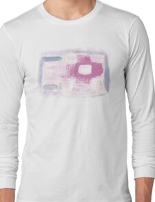 Paintbrush Practicing makes Pretty Pattern Long Sleeve T-Shirt