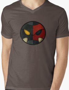Cyber Errol Mens V-Neck T-Shirt