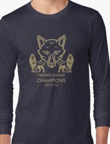 Leicester City Premier League Champions 1 Long Sleeve T-Shirt