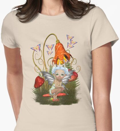 Fairy Enchantment Womens Fitted T-Shirt