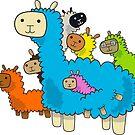 A-pack-a Alpacas by studiowun