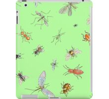 Creepy crawlies: spring edition iPad Case/Skin