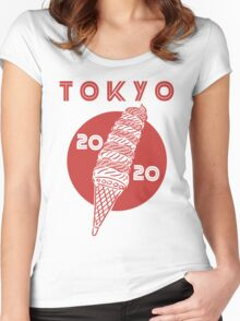 Tokyo Olympics 2020 Women's Fitted Scoop T-Shirt